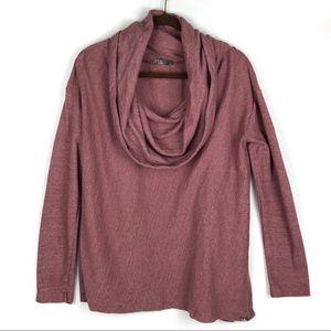 Prana | Women's Cowl Neck Medium-weight Sweater L